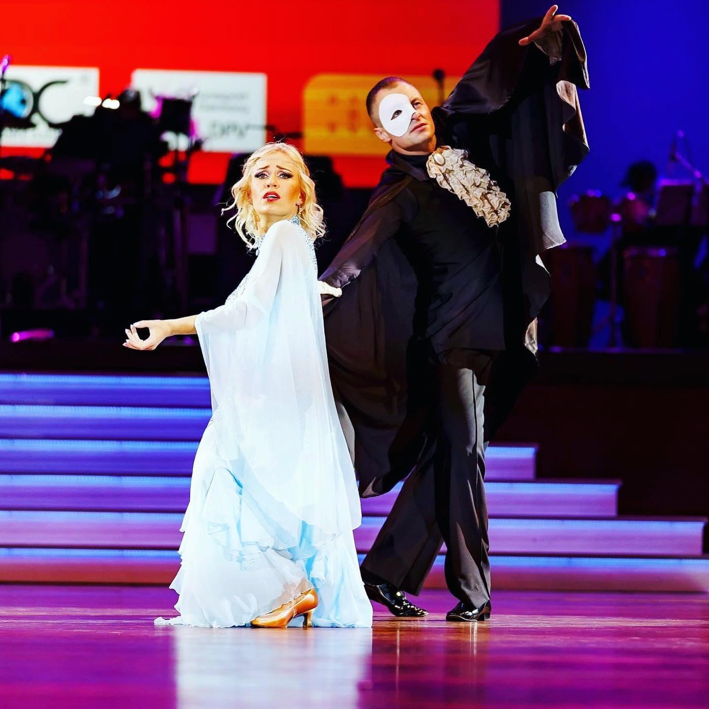 Konstantin & Nadiia Panchenko werden EM 5. in der Disziplin – Professional Ballroom Showdance